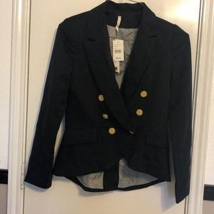 Willow and Clay Navy Blue Blazer Jacket Small